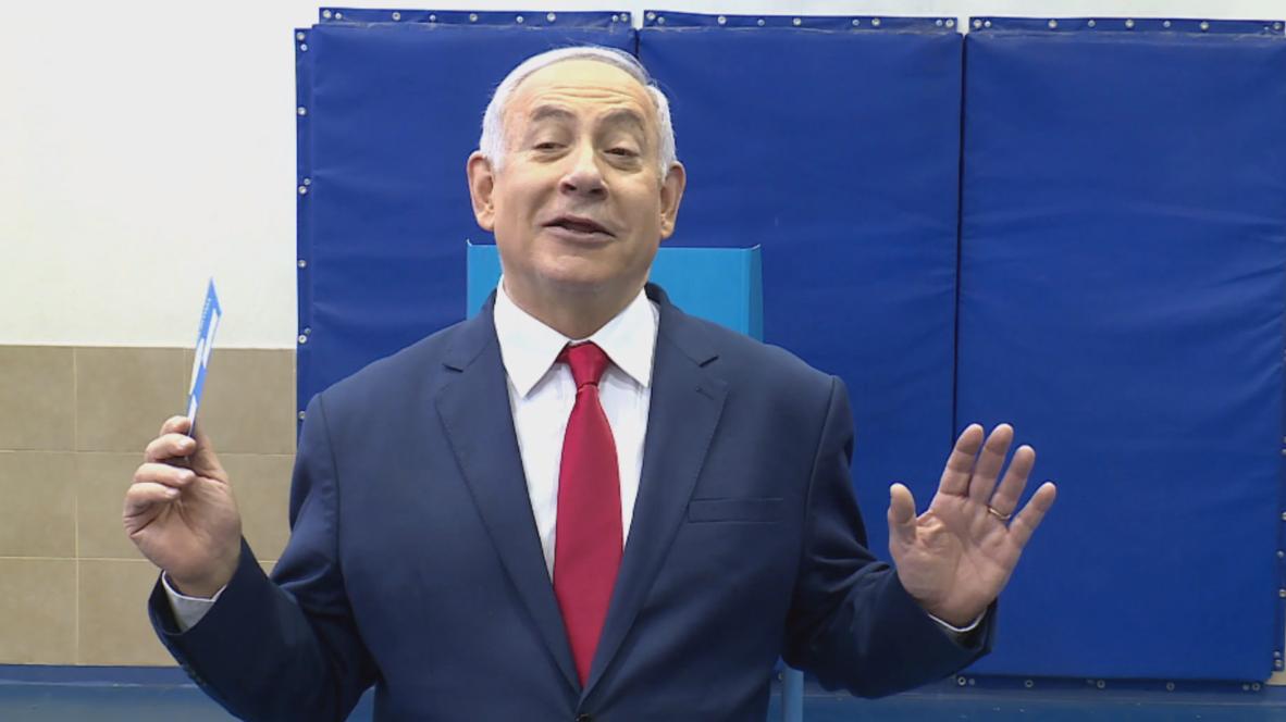 Israel: Netanyahu casts vote alongside wife Sara in Israeli elections