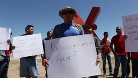 México: Manifestación antiinmigrante en Ciudad Juárez