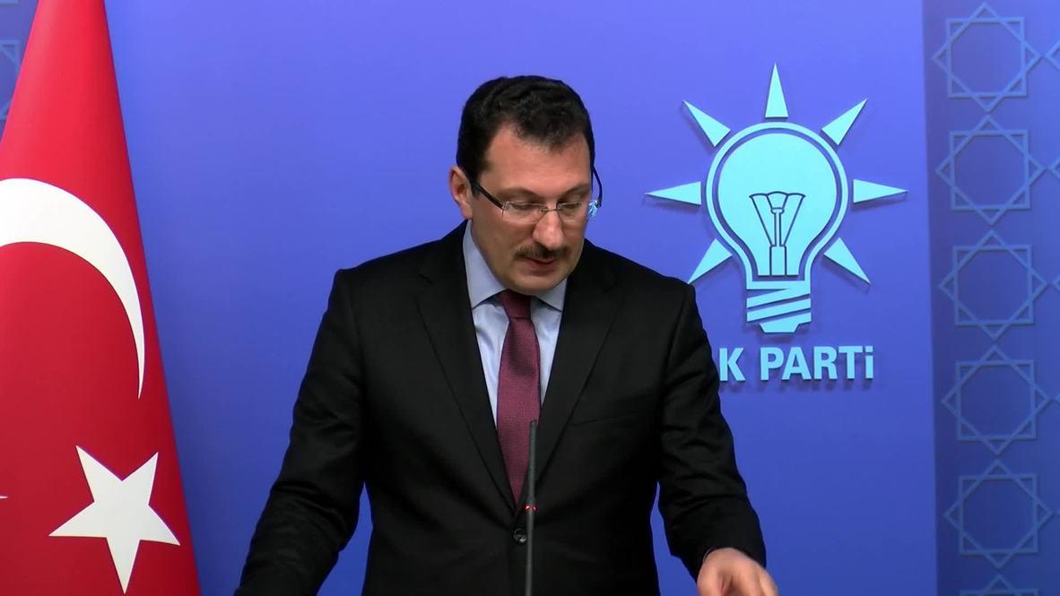 Turkey: Erdogan's AKP demands new vote in Istanbul