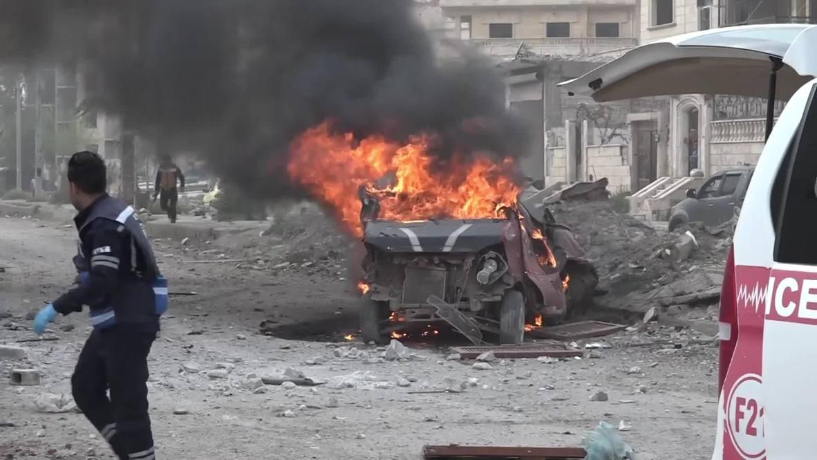 Сирия: Двойной взрыв в Ракке унёс жизни как минимум 8 человек