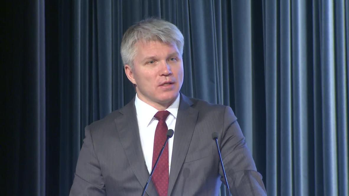 Россия: Колобков рассказал о результатах работы Минспорта РФ в 2018 году
