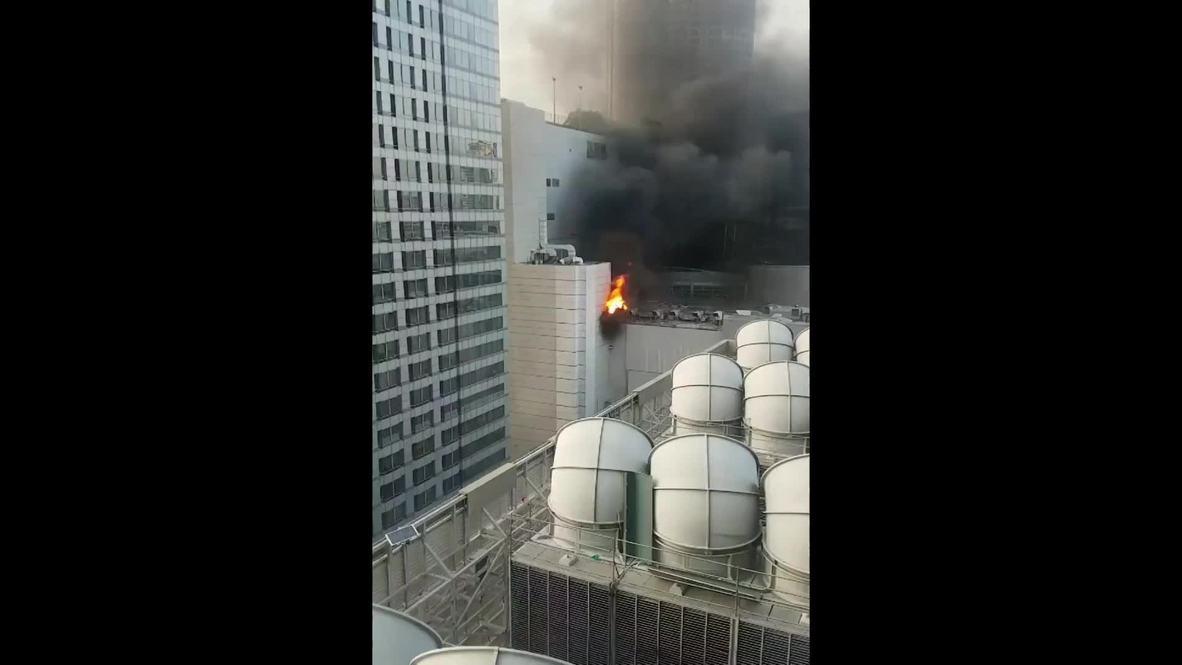 Таиланд: Крупный пожар вспыхнул в центре Бангкока, есть жертвы