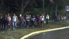 Honduras: Una nueva caravana de migrantes parte rumbo a Estados Unidos