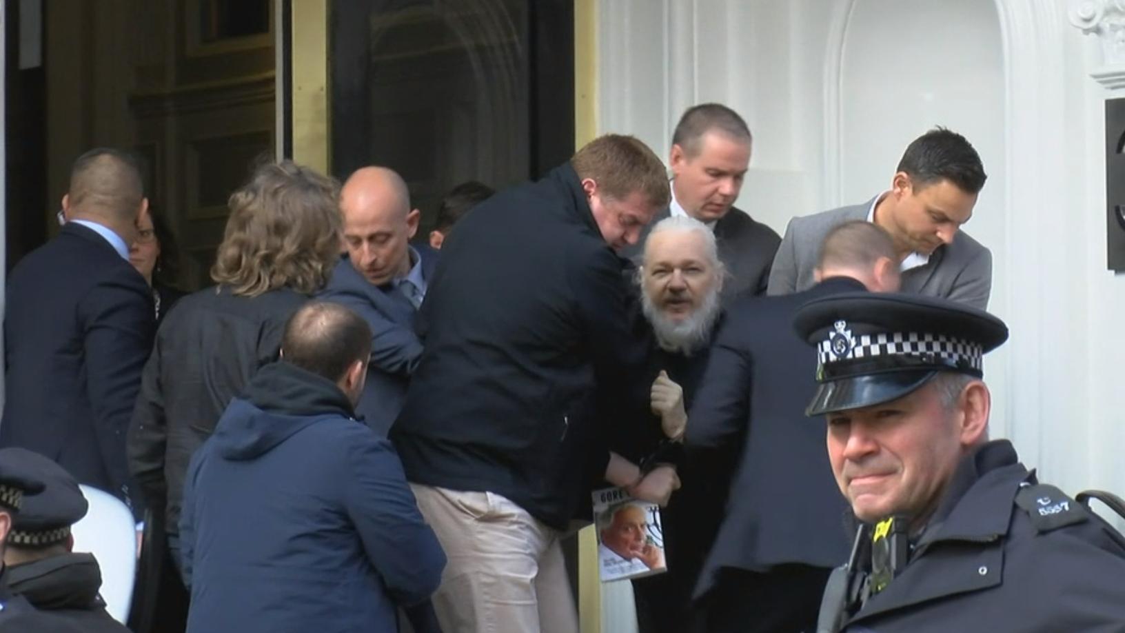 Полиция Лондона арестовала Ассанжа