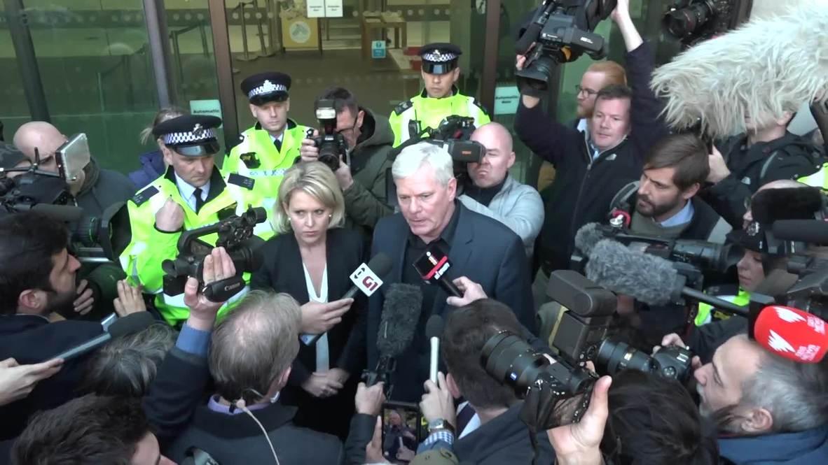 """Reino Unido: Assange sufre una """"persecución política"""" - Editor jefe de Wikileaks"""