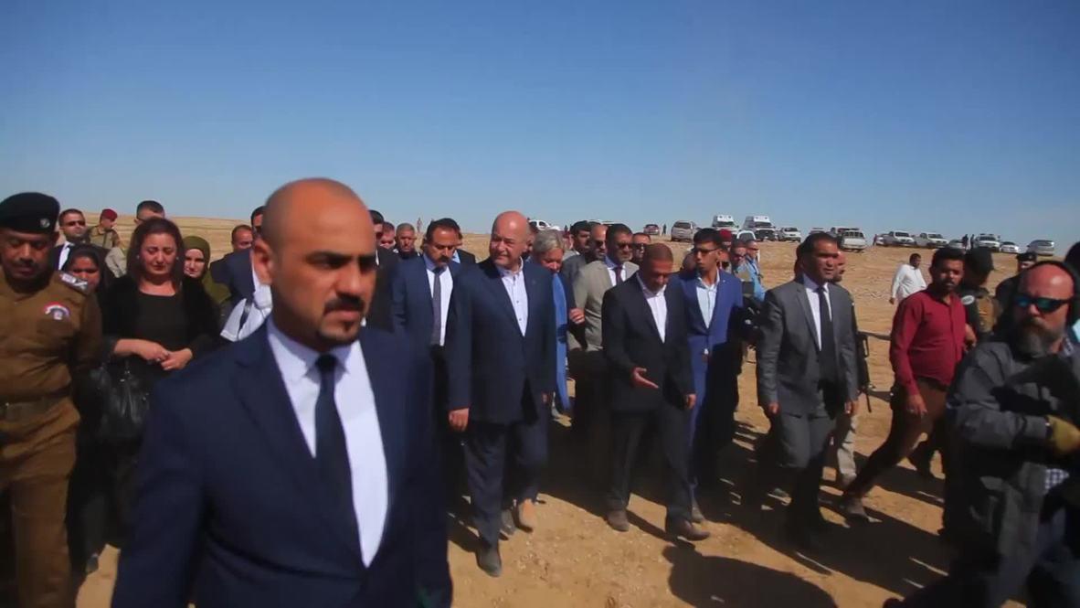 Iraq: Mass grave of Kurds killed by Saddam unearthed