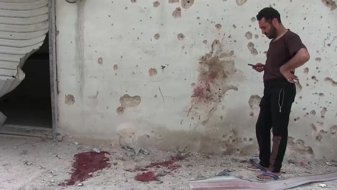 Сирия: 11 человек погибли под миномётным обстрелом