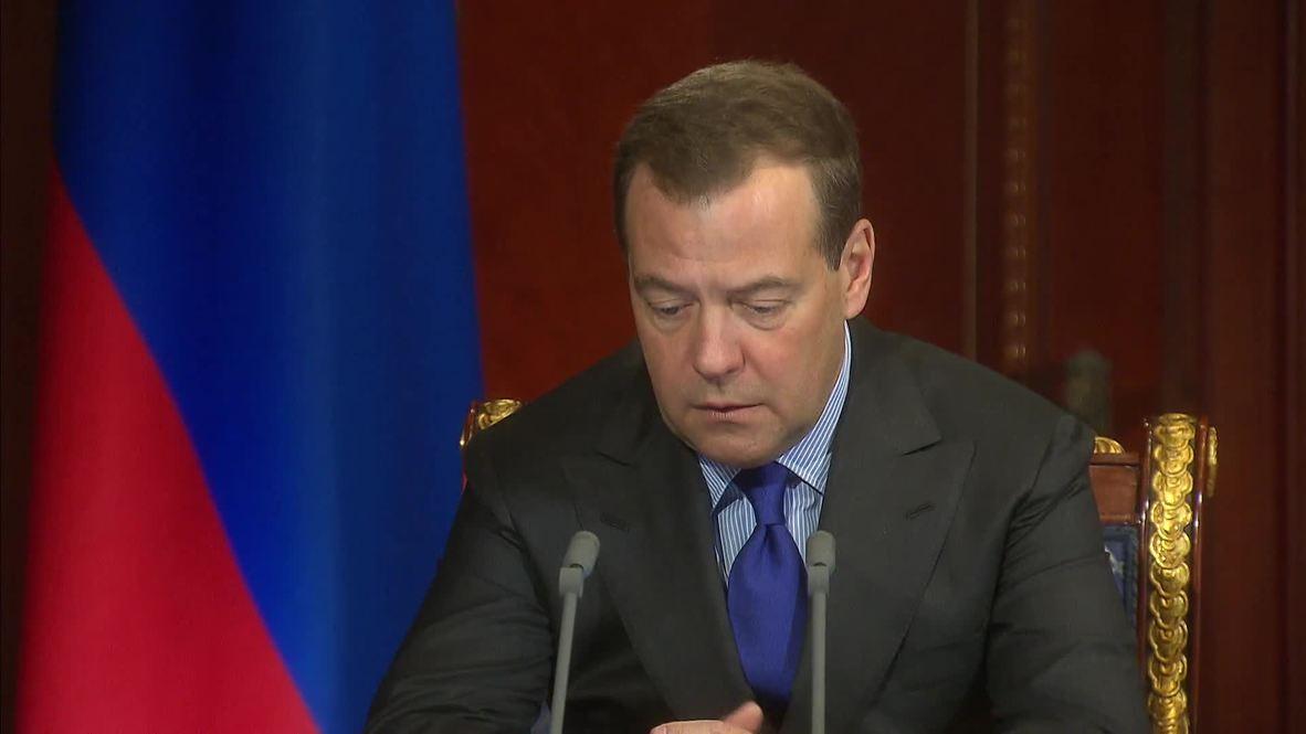 Россия: Медведев провёл встречу с вице-премьерами