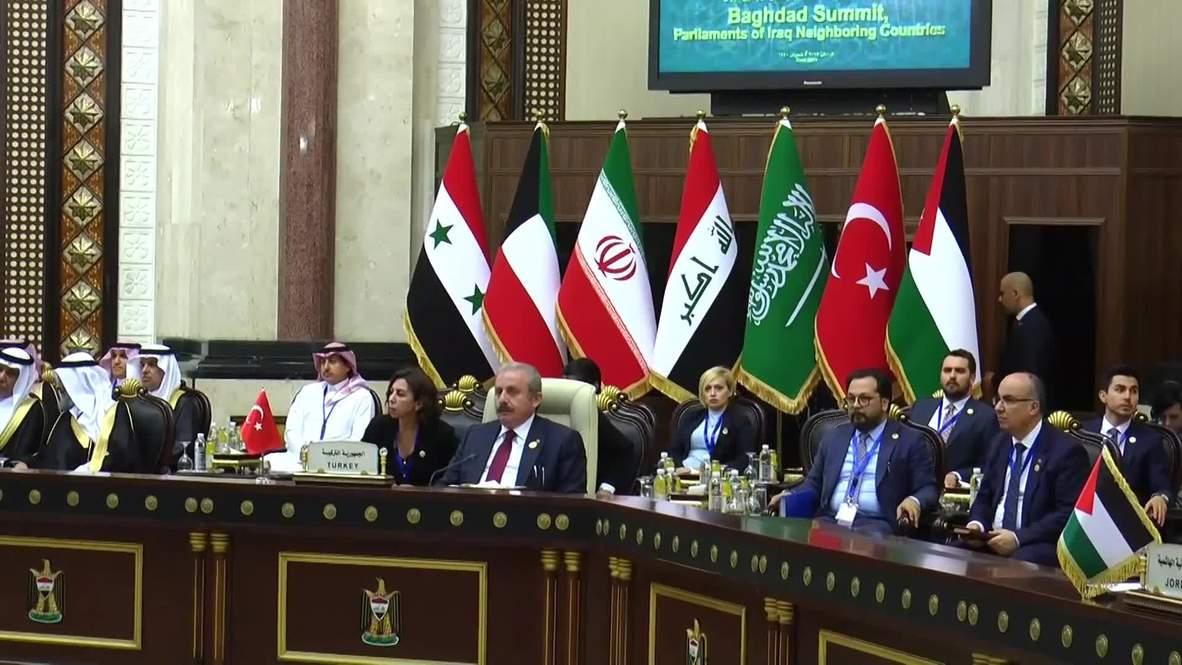 Irak: Arabia Saudita e Irán asisten a la Cumbre de Bagdad