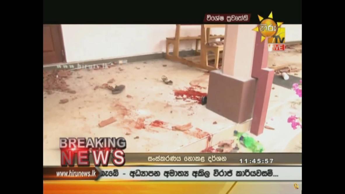 Sri Lanka: At least 60 dead in Negombo church bombing