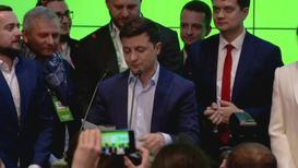 Украина: Зеленский, согласно экзитполам, побеждает на выборах - за него 73% избирателей