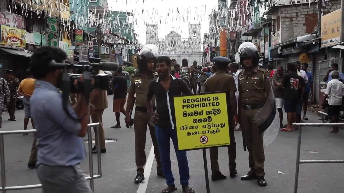 Шри-Ланка: Жителей Коломбо эвакуируют после взрыва во время обезвреживания бомбы