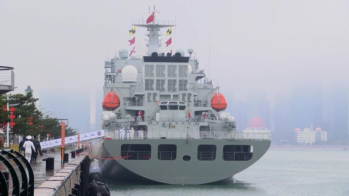 China: Marina de guerra celebra aniversario 70 con gran desfile