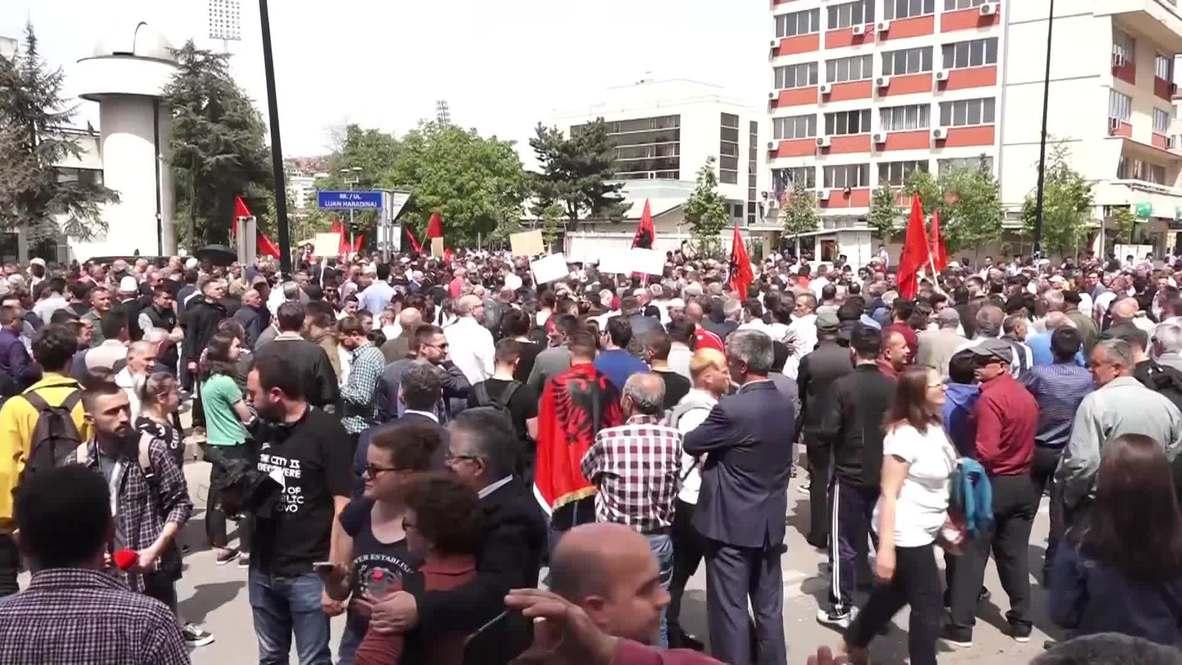 Serbia: Anti-corruption campaigners target Kosovo prosecutor's office
