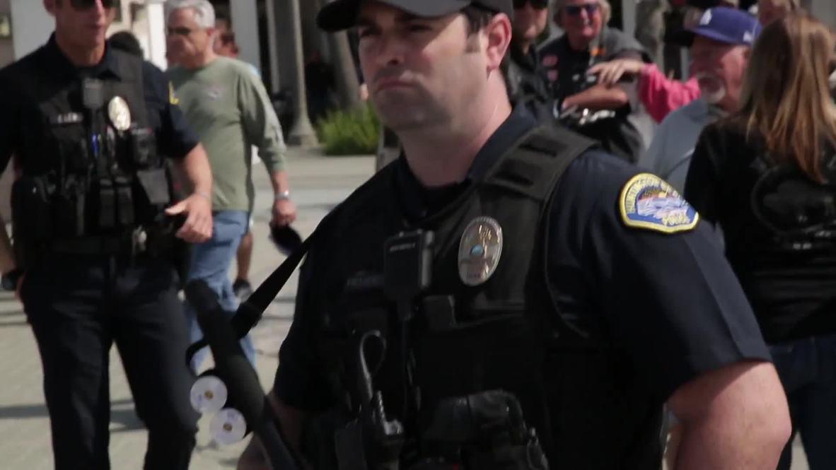EE.UU.: Con arrestos termina marcha antiinmigración en California