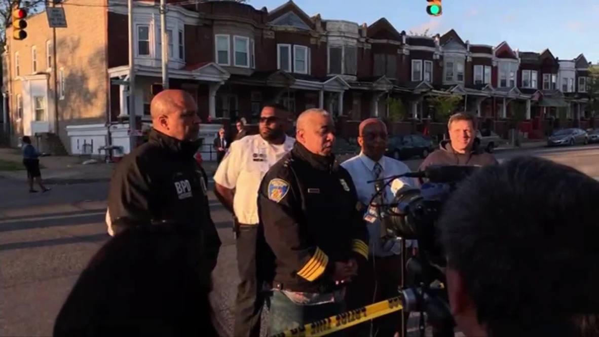EE.UU.: Un muerto y seis heridos durante una barbacoa en Baltimore