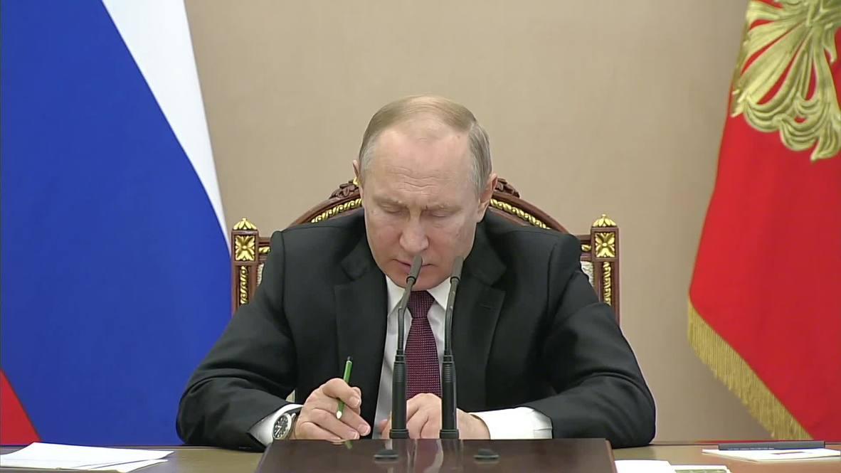 Россия: Министры о пожарах в Забайкалье, ветеранах ВОВ, детских летних лагерях на совещании с президентом