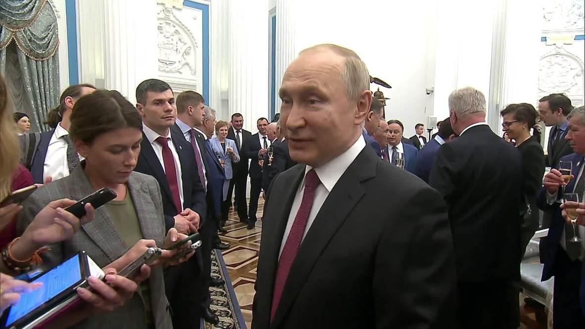 """Россия: """"Если у нас будет общее гражданство, выиграют и русские, и украинцы"""" - Путин"""