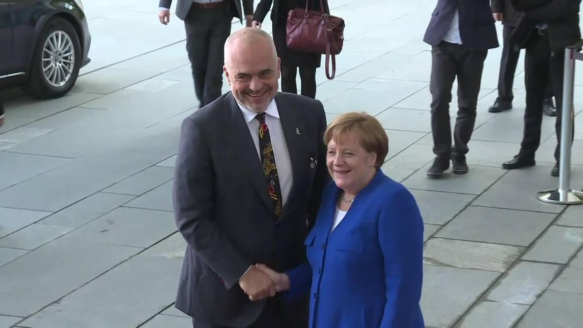 Germany: Western Balkans Conference kicks off in Berlin