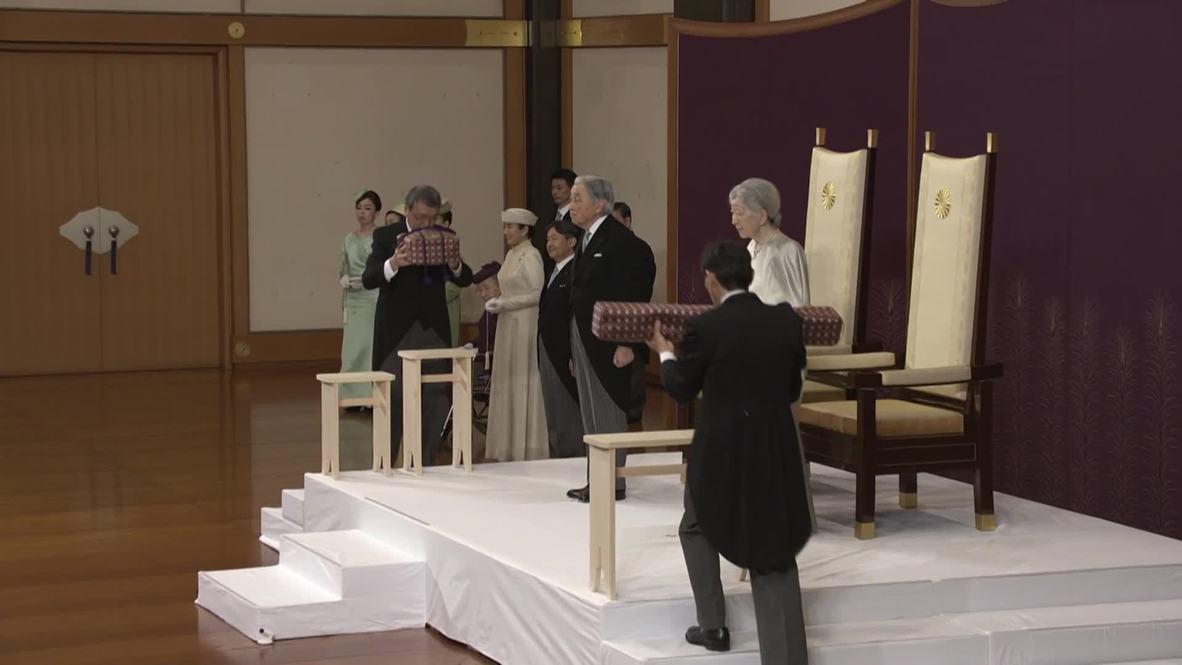 Japón: La abdicación del emperador Akihito marca el fin de una era en una ceremonia histórica