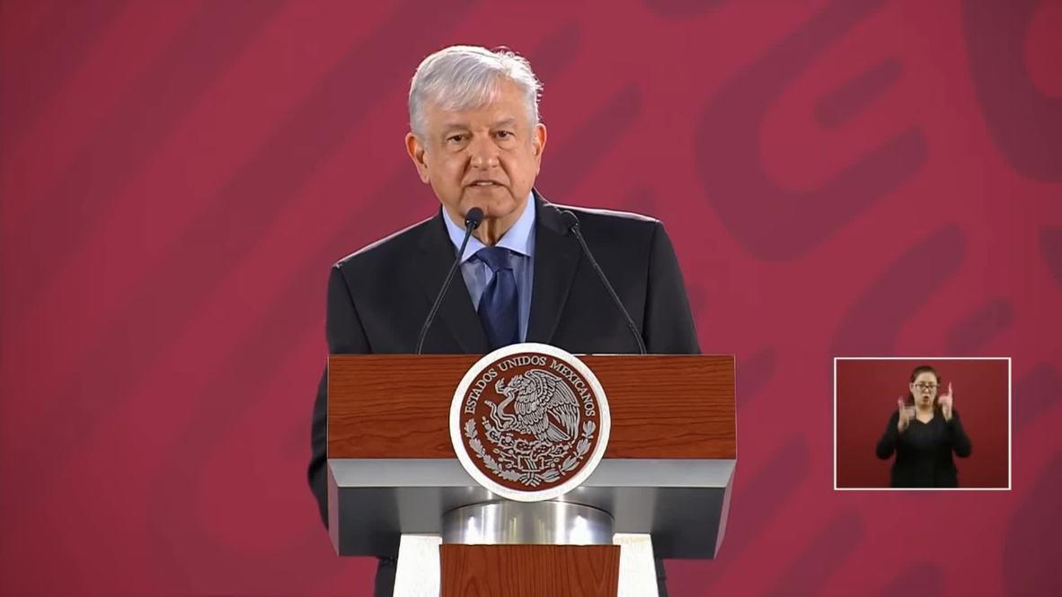 México: AMLO reitera su postura de no intervención en Venezuela