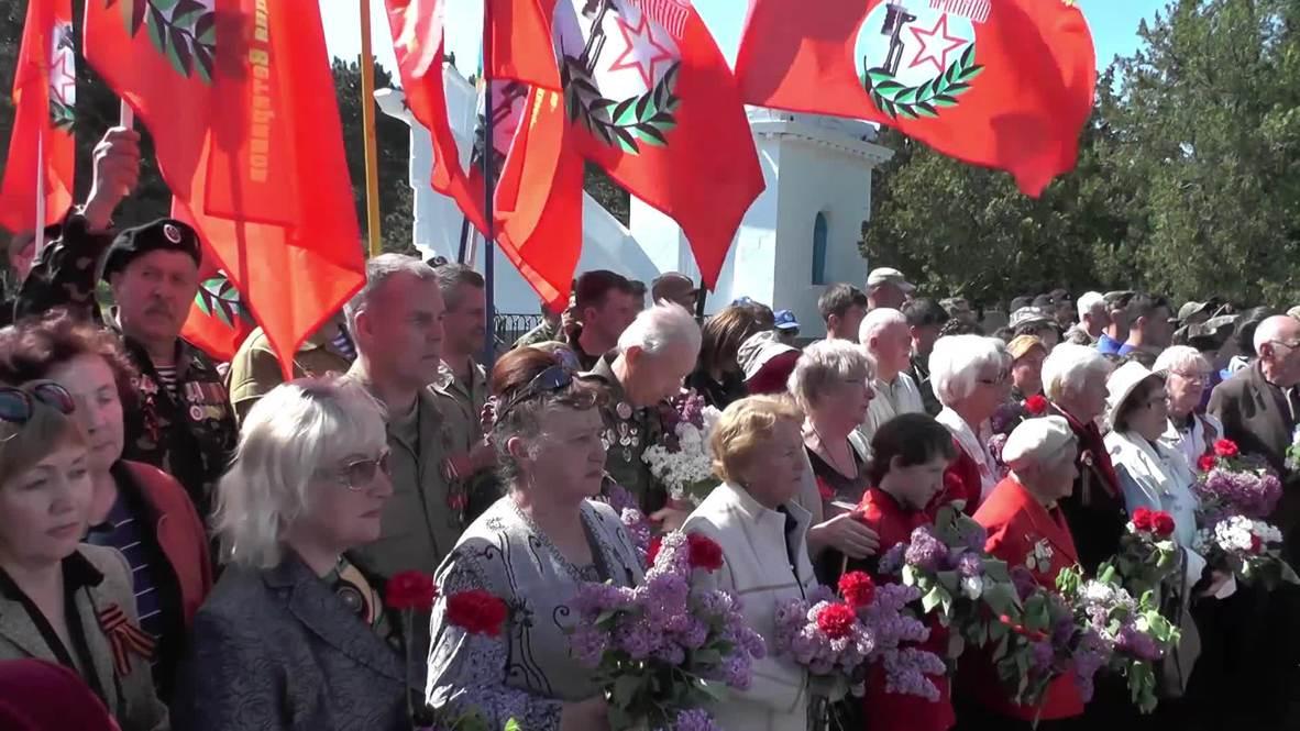 Россия: На кладбище под Севастополем перезахоронили воинов, освобождавших город в 1944 году