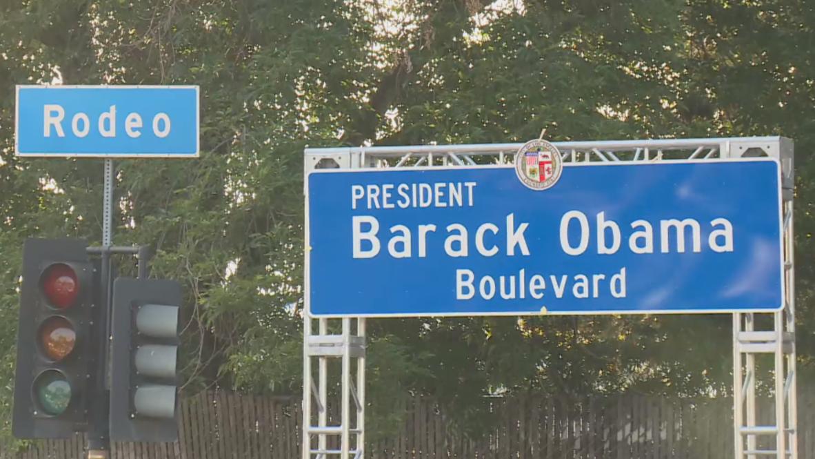 EE.UU.: Avenida de Los Ángeles es renombrada en homenaje a Barack Obama