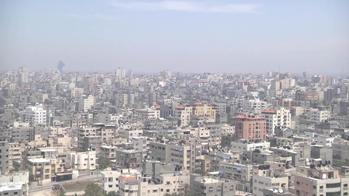 State of Palestine: Airstrikes continue amid Gaza rocket attacks