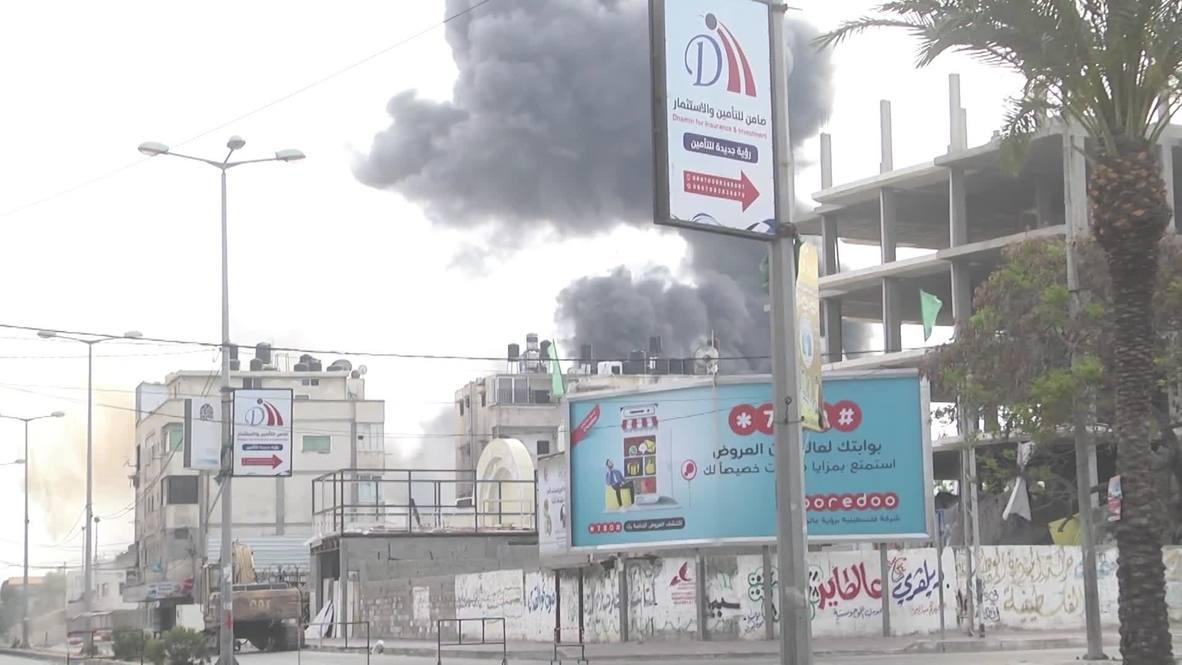 Palestina: FDI ataca las oficinas de seguridad de Hamás, según los militares