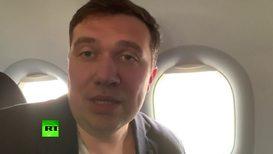 Россия: Корреспондент RT стал очевидцем аварийной посадки самолета в Шереметьево *ПАРТНЕРСКИЙ КОНТЕНТ*