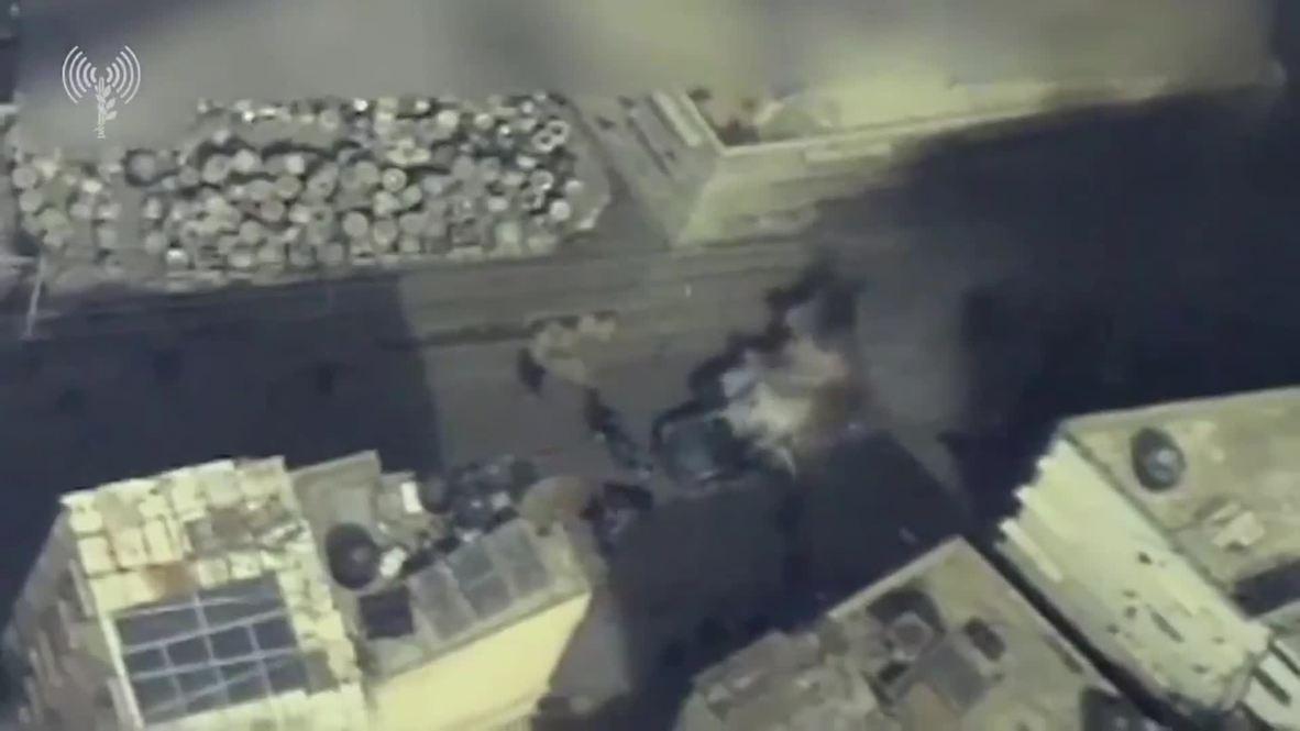 Palestina: El ejército de Israel publica imágenes del ataque aéreo contra un comandante de Hamas