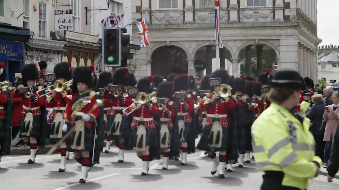 Reino Unido: Windsor se contagia de la fiebre del bebé real