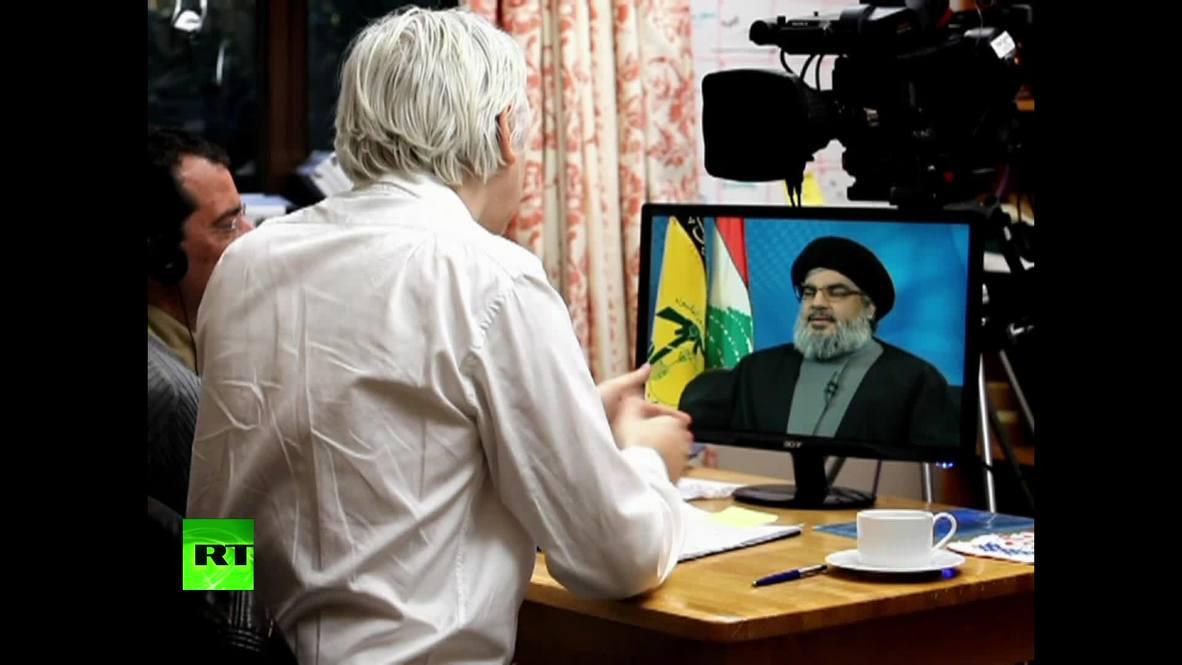 El Show de Julian Assange: Hassan Nasrallah *ARCHIVO* *CONTENIDO DE SOCIOS*