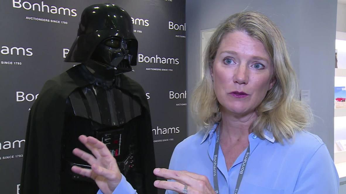 Sacan a subasta un traje de Darth Vader que podría alcanzar los 2 millones de dólares