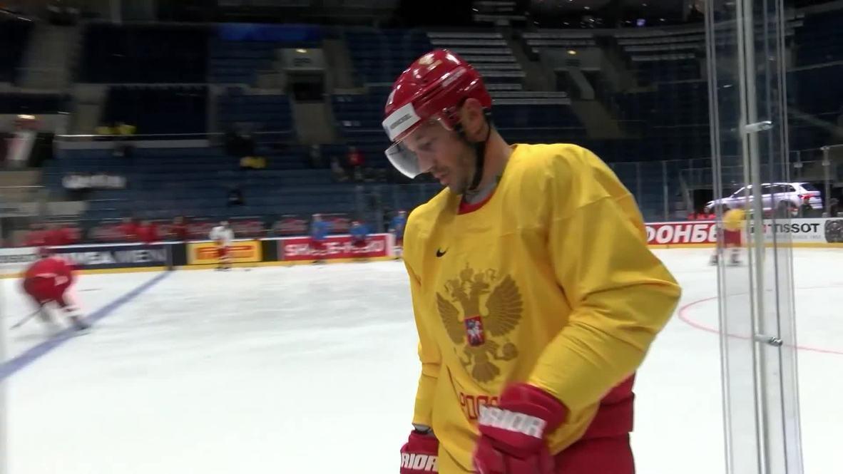 Slovakia: Russian ice hockey team gear up for Norway World Championship clash