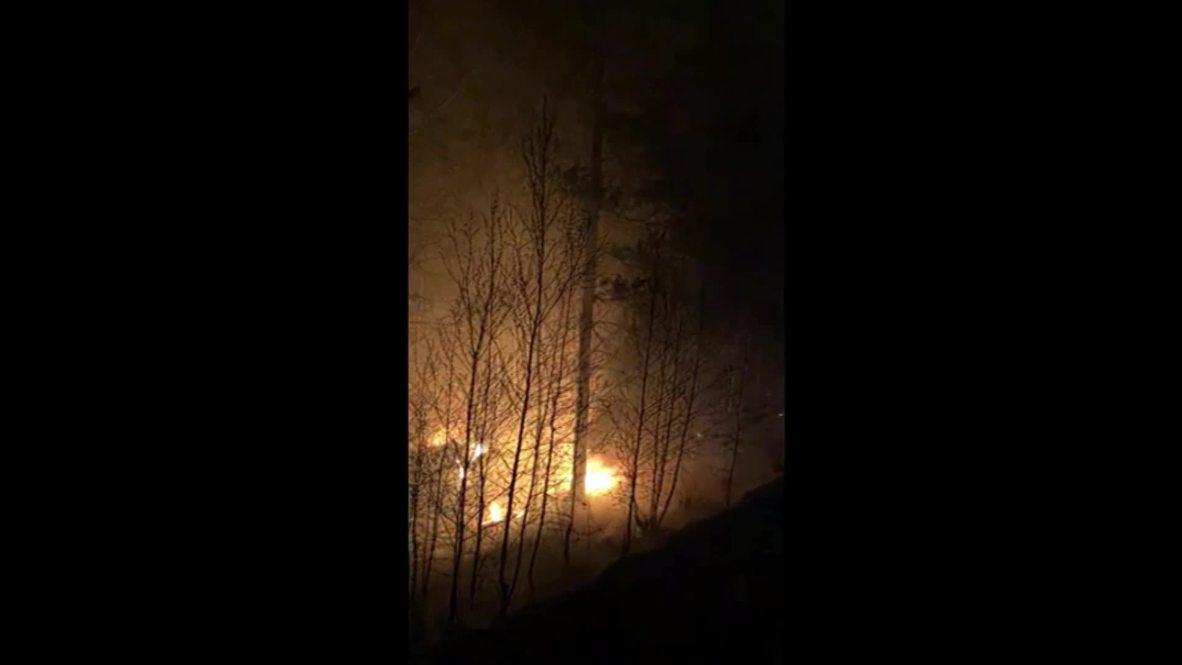 Россия: Добровольцы вышли тушить лесные пожары в Иркутске