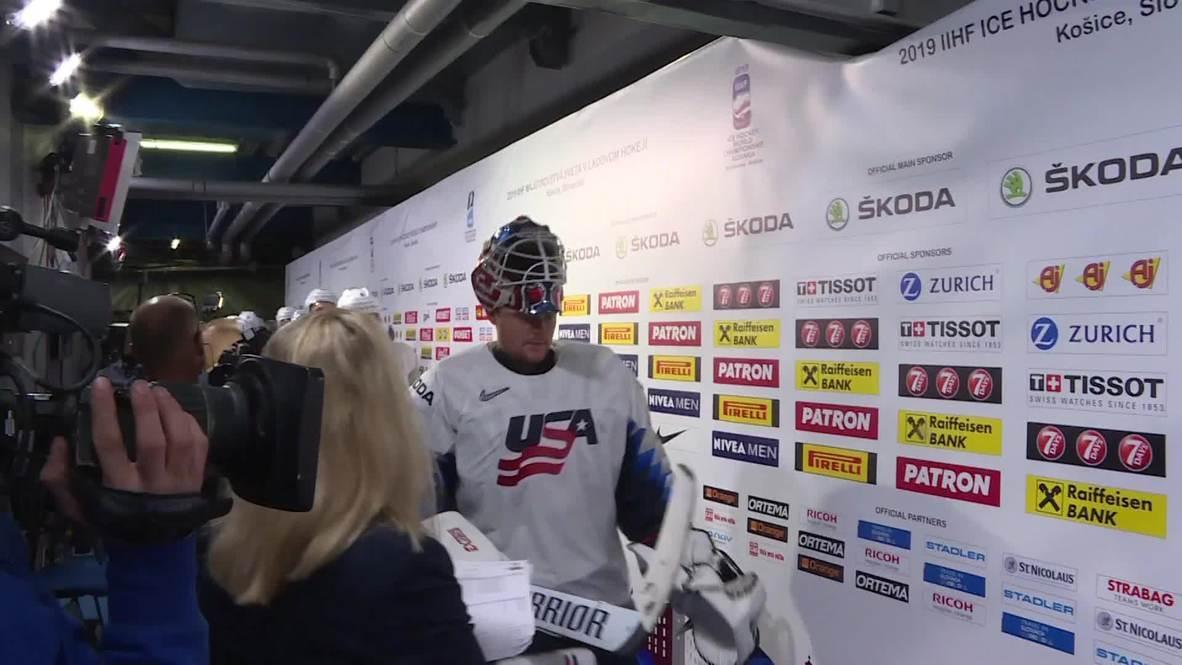 Slovakia: Hosts stun USA 4-1 at ice hockey world championships