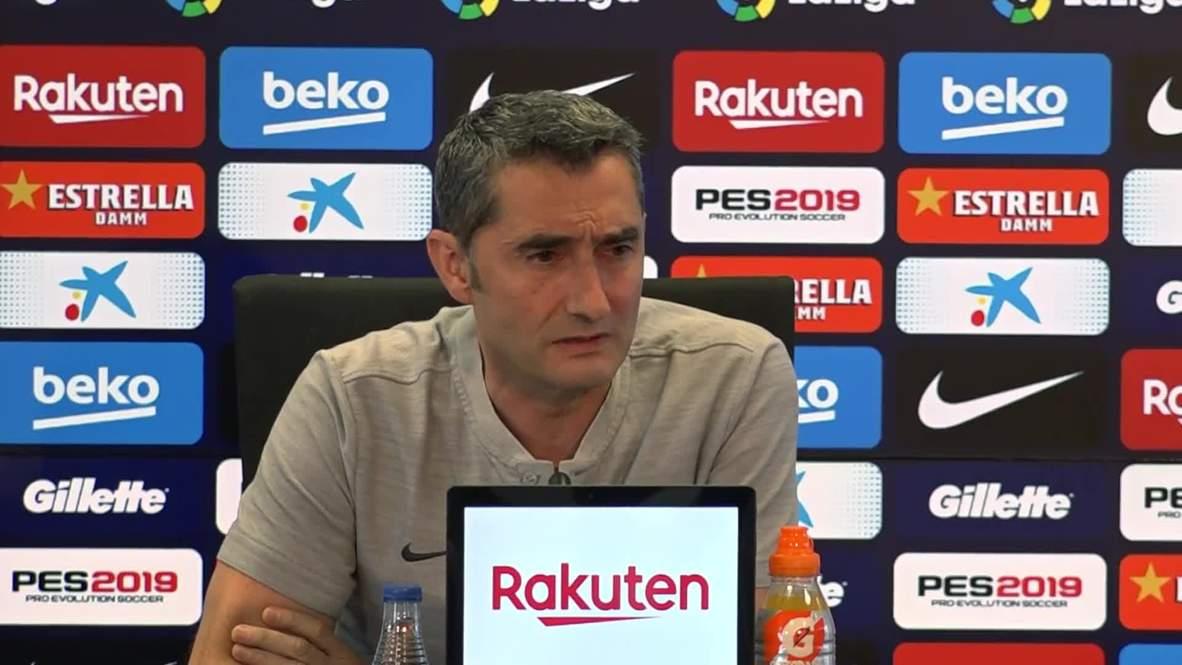Spain: Barca Coach Valverde feeling strong about future despite CL exit