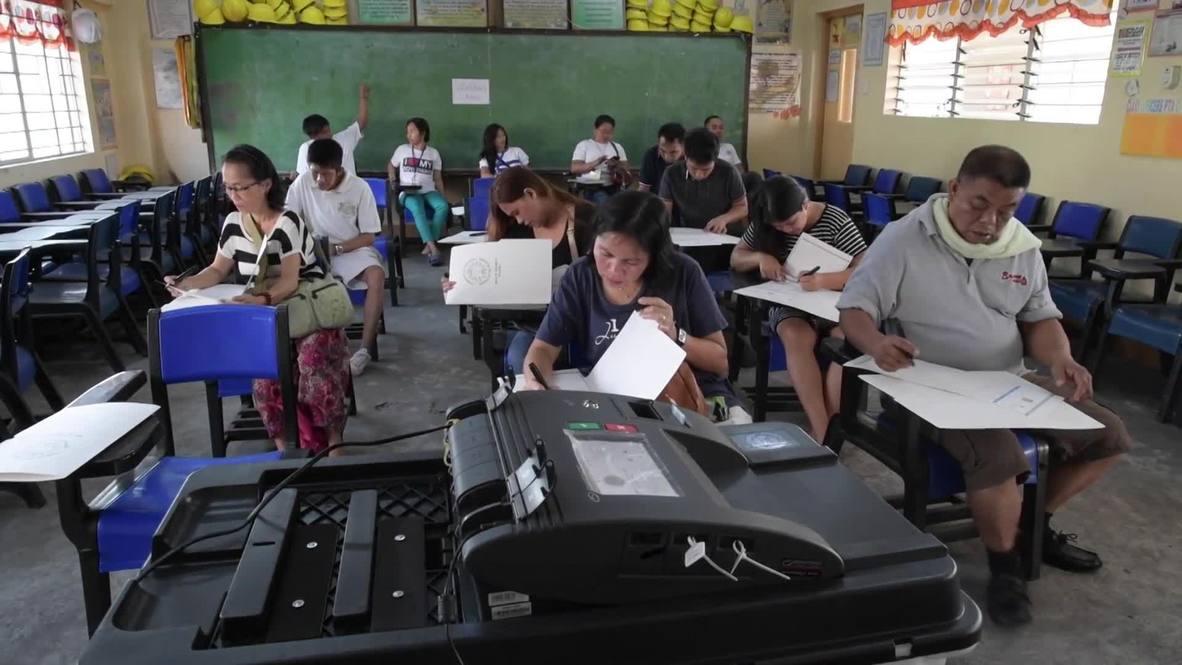 Filipinas: Arrancan las elecciones a mitad de mandato