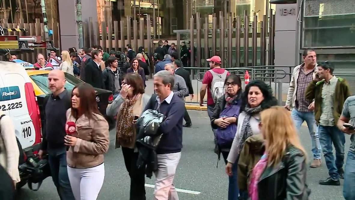 Argentina: Fuerzas de seguridad se despliegan en edificio anexo a Cámara de Diputados después de amenaza de bomba