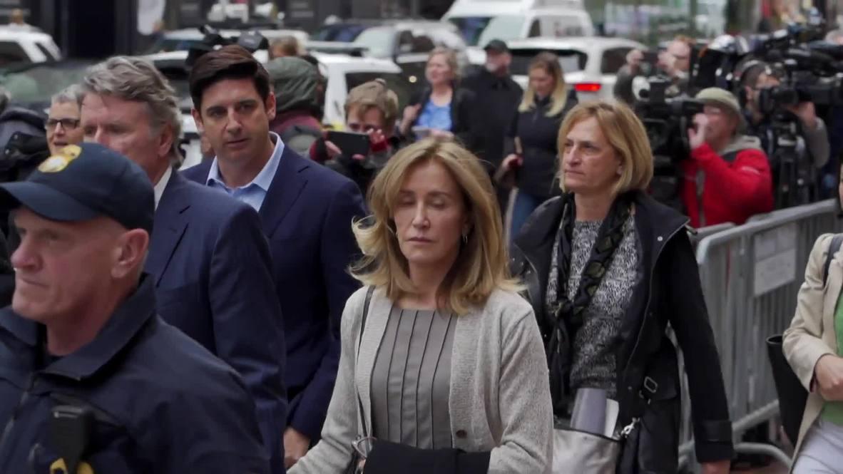 EE.UU.: Actriz Felicity Huffman se declara culpable de pagar sobornos en escándalo de admisión en universidades