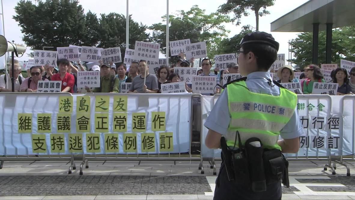 Hong Kong: Protestan contra ley que permitiría extradición a China continental