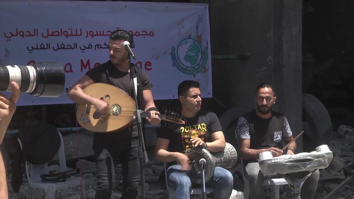 Palestina: Artistas locales piden boicotear Eurovisión lanzando un festival alternativo