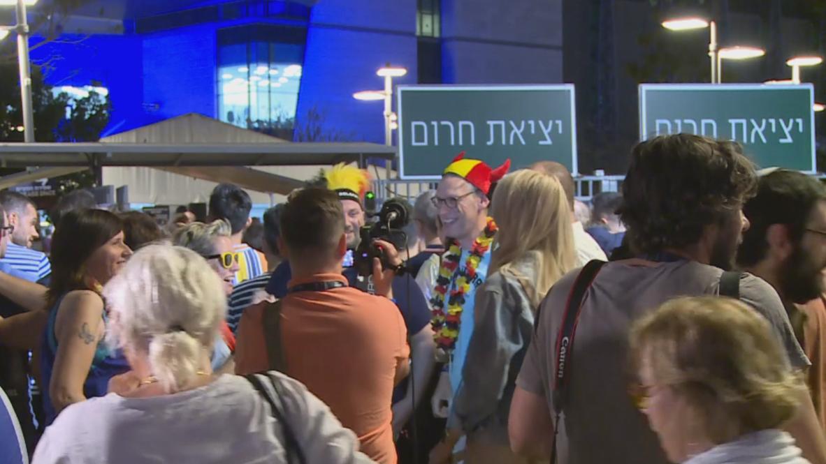 Israel: Eurovision semi-finals draw crowds in Tel Aviv