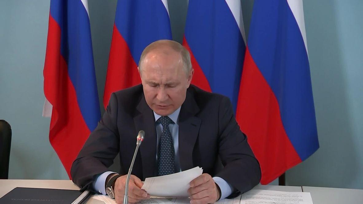 Россия: Не поручения нужно исполнять, нужно добиваться результата - Путин