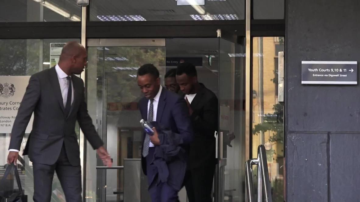Reino Unido: El futbolista Berahino declarado culpable de conducir ebrio