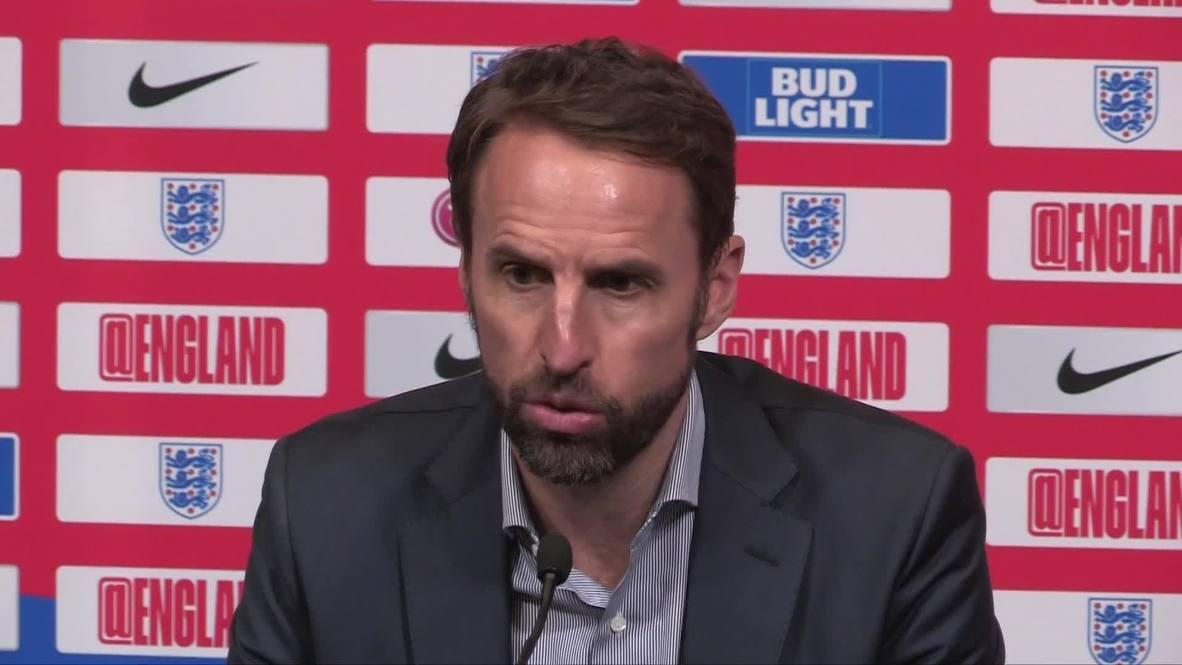 Inglaterra: Southgate dice sentirse 'bendecido' antes de las semifinal de la Liga de las Naciones de la UEFA