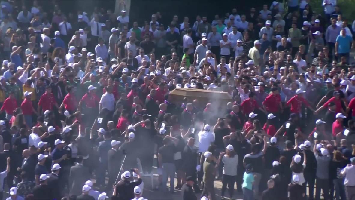Líbano: Miles asisten al funeral del expatriarca de la iglesia maronita en Beirut