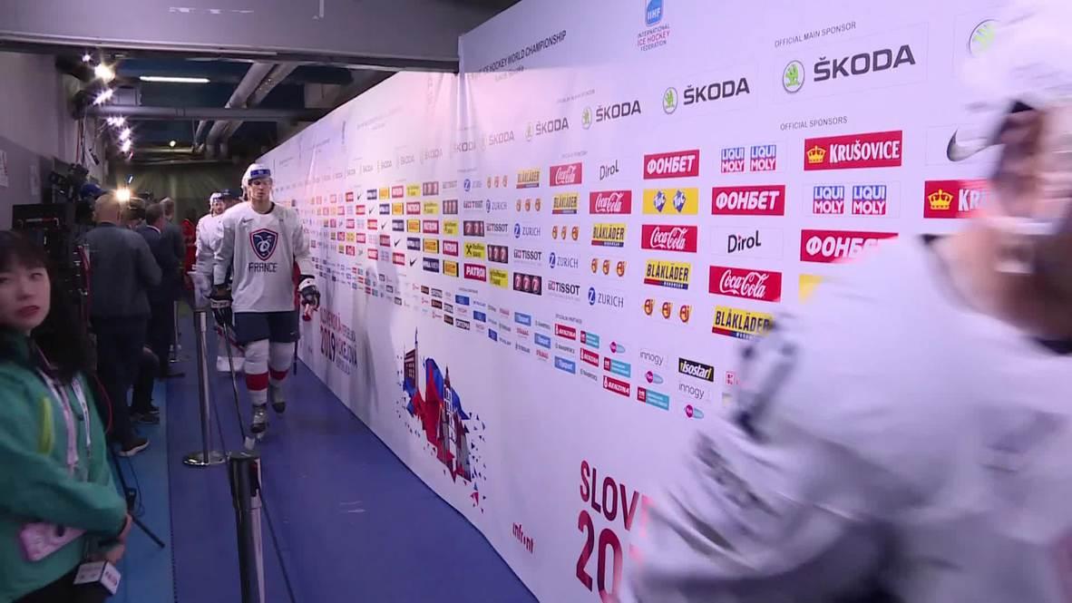 Slovakia: Canada beat France 5-2 at 2019 IIHF World Championship