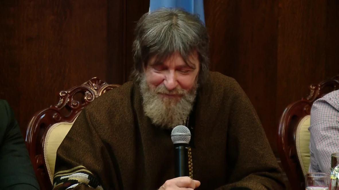 "Аргентина: ""Помогла вера"" – Фёдор Конюхов дал пресс-конференцию в Буэнос-Айресе"